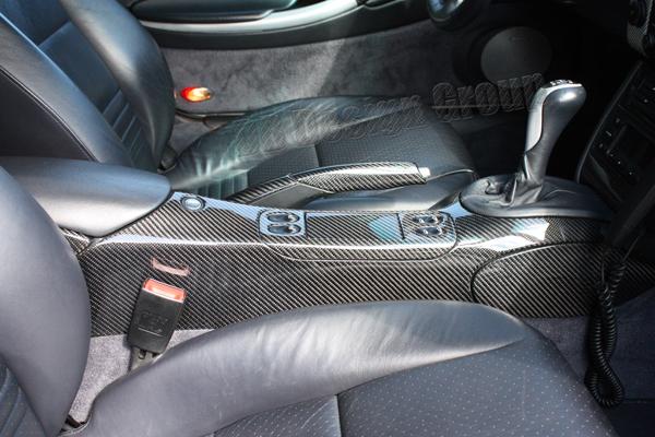 Porsche 996 carbon Handbremse Hebel Bremse Konsole