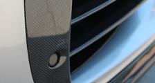 Porsche 991 991.2 turbo 911 carbon front air intake trim park sensor vent slats exterior carbon parts