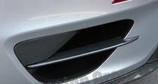 Porsche 991 991.2 turbo 911 carbon rear air intake trim vent slats exterior carbon parts