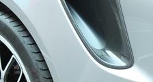 Porsche 991 991.2 turbo GT3RS 911 carbon air intake vent duct trim exterior carbon parts
