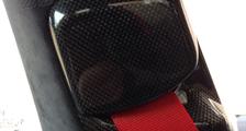 Porsche 991 991.2 911 carbon b pillar belt trim interior carbon parts