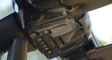 Porsche 981 Boxster carbon interior roof light trim panel roof console cover carbon parts