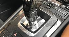 Porsche 991 991.2 911 carbon PDK gear shift knob center console trim lining carbon parts