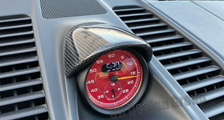 Porsche 991 991.2 911 carbon sport chrono clock housing cover dash carbon parts