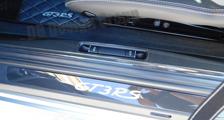 Porsche 981 991 991.2 911 carbon door sill trim entry guard bonnet switch cover carbon parts