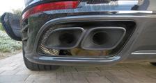 Porsche 991 991.2 turbo 911 carbon rear diffusor spoiler trim exhaust pipe surround exterior carbon parts
