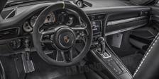 Porsche 981 718 991 911 carbon steering wheel interior trim linings carbon parts