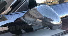 Porsche 981 718 991 911 carbon side mirror housing window triangle trim side mirrors carbon parts