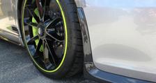 Porsche 991 R 911 carbon front bumper spoiler lip exterior carbon parts