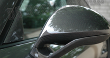 Porsche 981 718 991 911 carbon sport design mirror housing side mirrors shell mirror caps triangle carbon parts