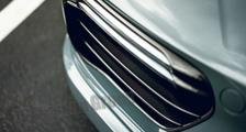 Porsche 991 turbo 991.2 911 carbon front bumper air intake vent grill slats cover exterior carbon parts