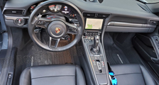 Porsche 981 718 991 911 carbon interior trim linings dash console carbon parts