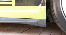 Porsche 991 991.2 GT3 911 carbon side skirts rocker panel cover door sill exterior carbon parts