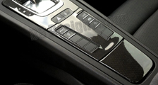 Porsche 981 718 991 911 carbon console trim lining ash tray PDK shifter surround cover center console carbon parts