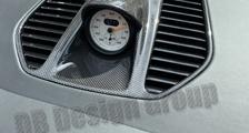 Porsche 991 991.2 911 carbon sport chrono clock housing cover defrost vent trim dashboard carbon parts