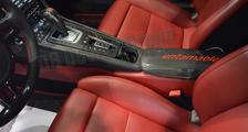 Porsche 981 718 991 911 carbon PDK gear shift knob center console armrest storage box lid cover carbon parts