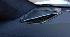 Porsche 991 991.2 911 carbon loud speaker cover defrost vent trim dashboard carbon parts