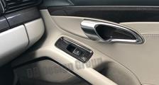 Porsche 981 718 991 911 carbon door pull trim insert window switch surround cover door panel carbon parts