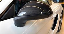 Porsche 981 991 991.2 911 carbon side mirror housing side mirrors shell caps carbon parts
