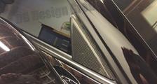 Porsche 981 718 991 991.2 911 carbon side mirror triangle trim housing side mirrors cover carbon parts