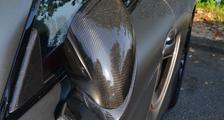 Porsche 981 718 991 911 carbon side mirror housing side mirrors trim cap triangle cover carbon parts