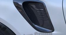 Porsche 991 991.2 GT2 RS GT3RS 911 carbon side air intake vent duct trim Weissach exterior carbon parts