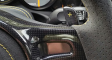Porsche 981 718 991 911 carbon sport steering wheel trim arm airbag surround cover PDK shift paddles carbon parts