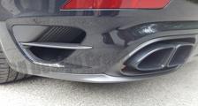 Porsche 991 991.2 turbo 911 carbon rear diffusor spoiler lip exhaust pipe surround trim exterior carbon parts