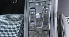 Porsche 981 718 991 911 carbon console trim lining ash tray lid cover center console switches carbon parts
