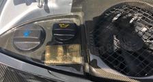 Porsche 991 991.2 911 carbon engine bay trim panel engine cooling cover carbon parts