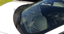 Porsche 981 718 991 911 carbon windshield cowl trim panel wiper arms rain water windscreen cover exterior carbon parts