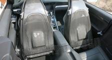 Porsche 981 718 991 911 carbon sport seat back shell backrest cover carbon parts