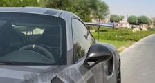 Porsche 991 991.2 GT3 RS 911 carbon fender air vent grill slats side mirror housing cover exterior carbon parts