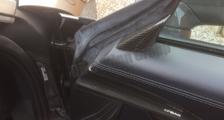 Porsche 981 718 991 911 carbon side mirror triangle cover airbag trim door panel carbon parts