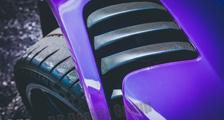 Porsche 991 GT3RS 911 carbon front fender air vent grill slats trim carbon parts
