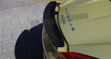 Porsche 981 Boxster Cayman carbon rear spoiler cover wing blade carbon parts