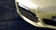 Porsche 981 Boxster carbon front air intake vent grill slats cover carbon parts