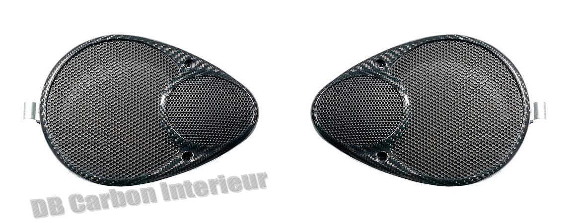 Porsche 996 Carbon Lautsprecher Seitenwand Verkleidung Subwoofer Carbonteile