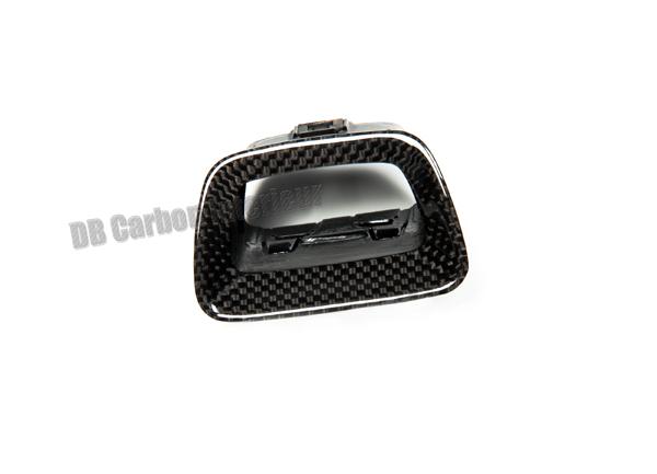Porsche 981 carbon Schalter Rahmen Warnblinkschalter Verkleidung Umrandung Blende Armaturenbrett Carbonteile