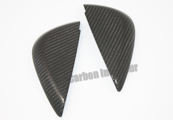 Audi R8 42 carbon end cap dashboard trim side vent cover carbon parts