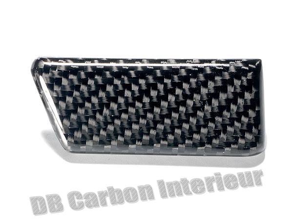 Porsche 955 Cayenne Carbon Zierleiste Center Armaturenbrett Dekor Leiste Carbonteile