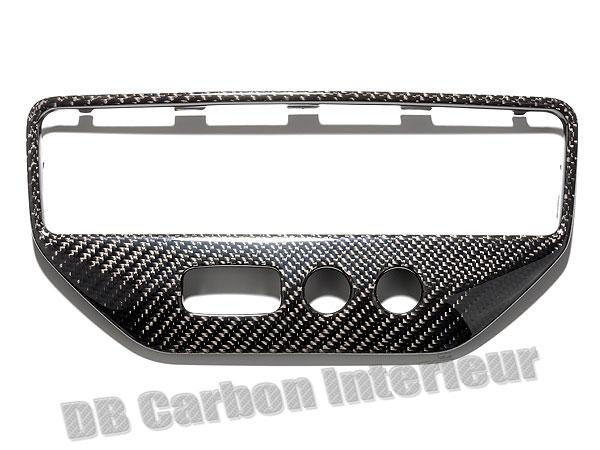 Maserati GranTurismo carbon Klima Bedienteil Verkleidung Blende Schalter Center Rahmen Armaturenbrett Carbonteile