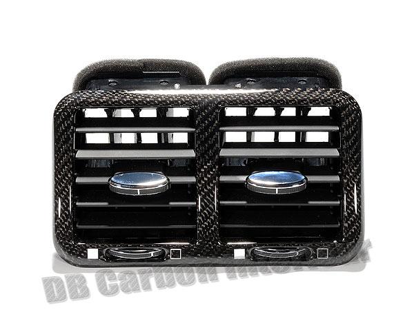 Maserati GranTurismo carbon Mitteldüse hinten Luftdüse Lüftung Verkleidung Fond Carbonteile