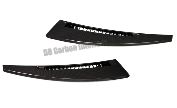 Porsche 991 carbon defroster trim dash air vent defrost cover windscreen dashboard air ducts carbon parts