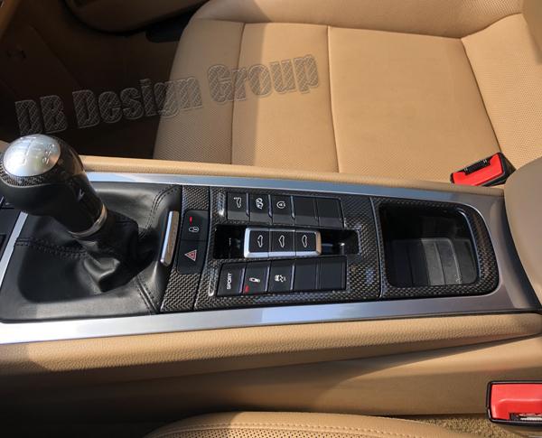 Porsche 991.2 carbon Nichtraucher Aschenbecher Ablagefach Konsole Ersatz Fach Einsatz