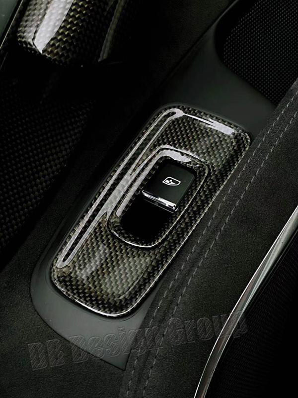 Porsche 991.2 Carbon Schalter Fensterheber Verkleidung Fensterschalter Blende Türverkleidung Carbonteile