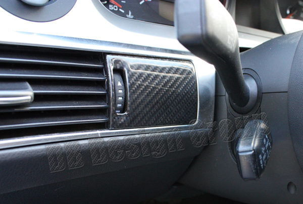 Audi A6 4F Carbon dash trim lining cover air vent