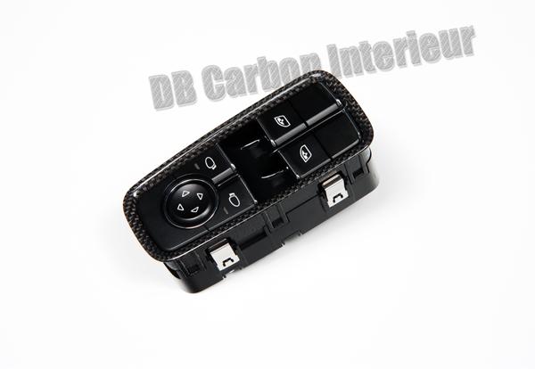 Porsche 981 carbon Fensterheber Schalter Verkleidung Tür Schalter Fenster Blende Rahmen Türverkleidung Carbonteile