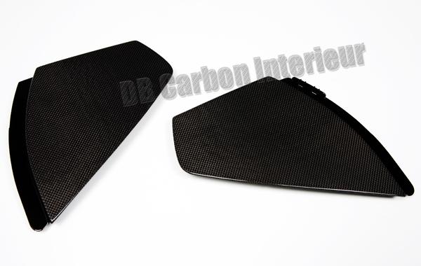Porsche 991 carbon covers side air vents dash end plate dashboard trim carbon parts