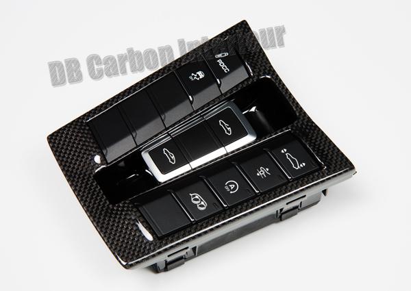 Porsche 991 carbon center console switch unit switch trim panel combi switch middle console carbon parts